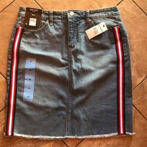 Women's Nine West jeans skirt